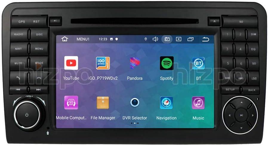 Ossuret Android 10 Autoradio-Radio mit 7-Zoll-Touchscreen Passend f/ür Audi TT MK2 2006-2014 Unterst/ützung der Lenkradsteuerung Optionales Digitalfernsehen DVR OBD2 DAB