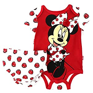 Minnie Mouse Baby Bodysuit with Diaper Cover