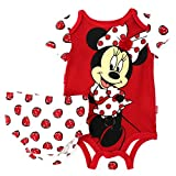 Minnie Mouse Baby Bodysuit with Diaper Cover (6/9M)