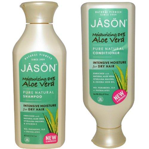 Jason Natural Moisturizing 84% Aloe Vera Shampoo & Conditioner