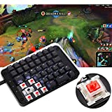 Koolertron Gateron Red Switches Programmable Gaming