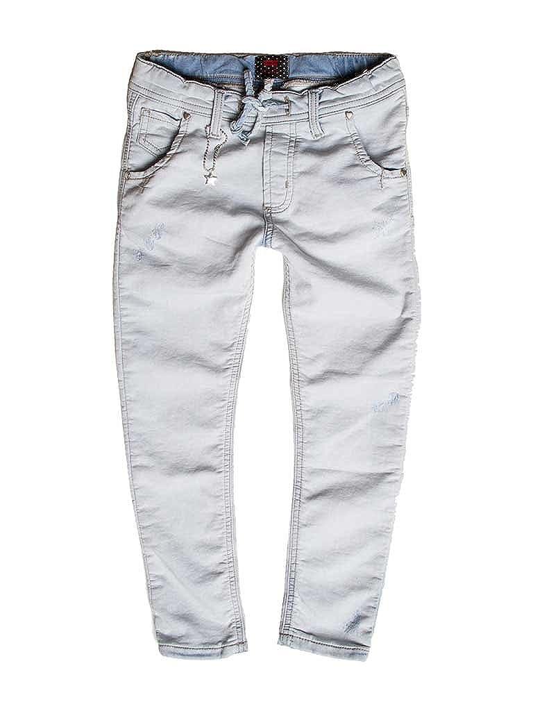 224 - Lavage Bleu Clair (Super Stone Wash) 13-14 ans (hauteur  164 cm) voiturerera Jeans - Jogger Jeans 750 pour Fille, Style Droit, Style Denim, Doubleure Polaire, Taille Normale, Taille Normale
