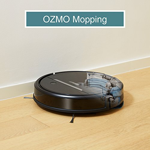 ECOVACS OZMO 601 Self-Charging Robot Mop & Vacuum Cleaner with Smart Phone App Controls, Auto-Clean Mode, 2 Specialized Cleaning Modes & Electronic Mopping System for Hard Floors & Thin Carpets