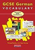 img - for GCSE German Vocabulary book / textbook / text book