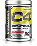 Cellucor C4 Original Pre Workout Powder Energy Drink w/Creatine, Nitric Oxide & Beta Alanine, Wild Fruit Blast, 90 Servings
