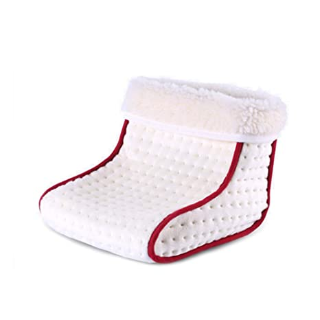 ab8d617f3d91 Amazon.com  Woolala Foot Warmer Boots Slippers for Women Men