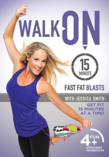 Walk On 15 Minute Fast Fat Blasts Dvd With Jessica Smith