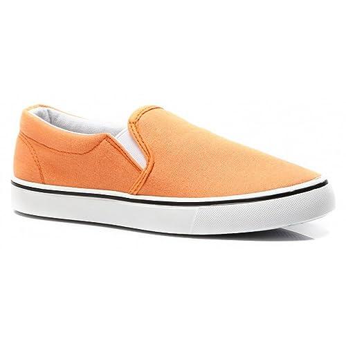 buyAzzo BAC03 - Mocasines de Tela para Mujer: Amazon.es: Zapatos y complementos