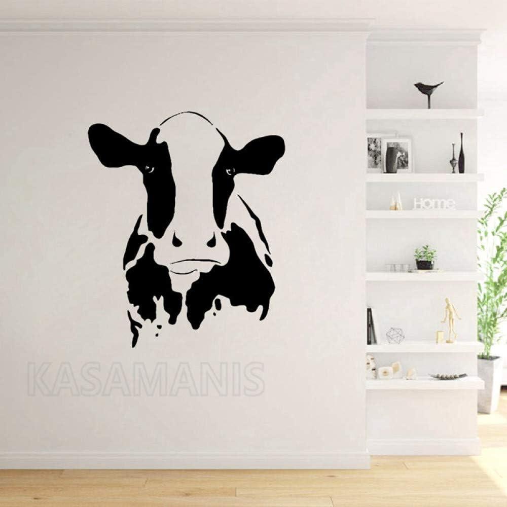 Sticker animal Tête de vache