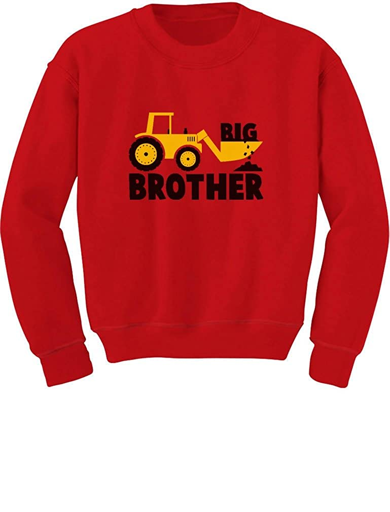TeeStars - Big Brother Gift for Tractor Loving Boys Toddler/Kids Sweatshirts GhPhZhZgf5