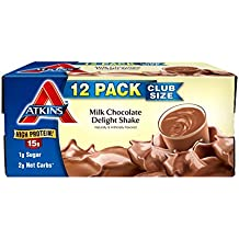 Atkins Advantage Milk Chocolate Delight Shake (11 fl. oz., 12 ct.)