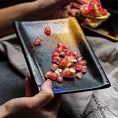 Platos para microondas Plato de Sushi Plato de cerámica Postre ...