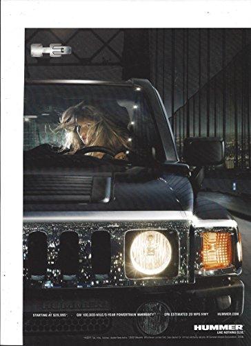 print-ad-for-2007-black-hummer-h3-sport-utility-girl-on-bridge-scene