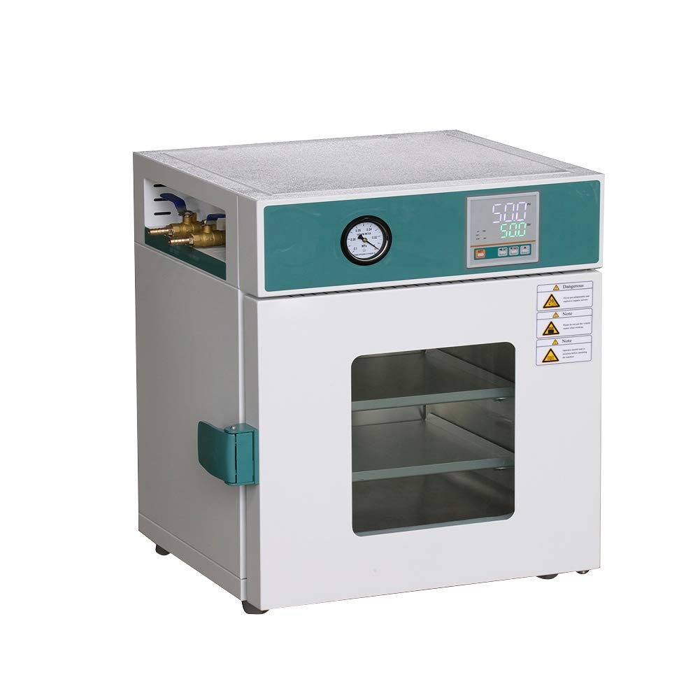 Digital Vacuum Drying Oven New Stainless Steel Lab Industrial Drying Oven Cabinet 250℃ Working Room 30x30x27cm