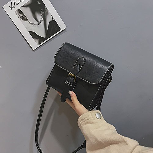 Sac Petit Noir Mini Femme Vintage De sac Coursier Bandoulière À Main Crossbody Messenger Sacs r0qwFr
