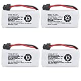 Kastar 4-PACK BBTG0798001 model BT1021 Cordless Phone Battery for Uniden BT-1021 & Uniden D1361 D1364 D1384 D1483 D1660 D1680 D1685 D1688 D1760 D1780 D1785 D1788 DECT1363 DECT 2060 DECT 2080 DECT2888