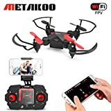Mini Drone, Metakoo M2 FPV RC Drone Gift for Kids, WiFi Quadcopter with HD Camera Live Video, Gravity Control, Trajectory Flight, Altitude Hold, 3D Flips, Headless Mode,One-Key Return/Take-Off/Landing