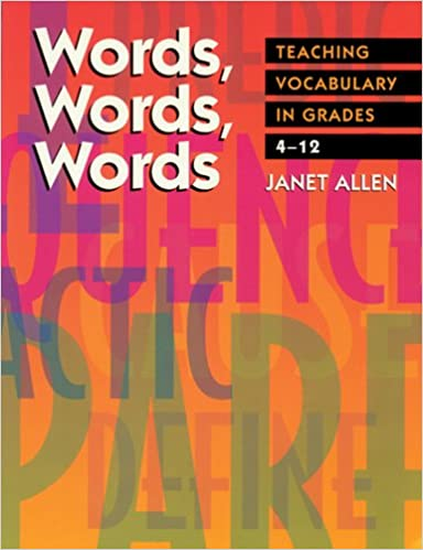 Amazon Words Words Words Teaching Vocabulary In Grades 4 12