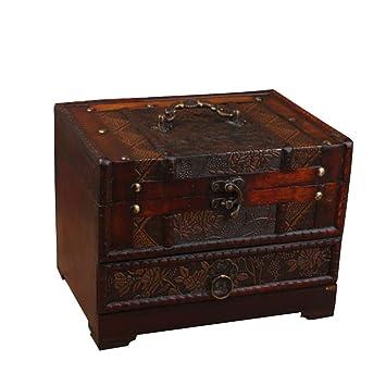 Casket for jewelry. Box with a lid Storage box Decorative storage box with flowers