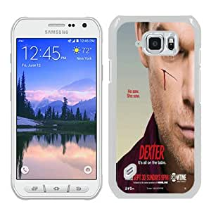 Dexter 010 White Recommended Picture Custom Samsung Galaxy S6 Active Case