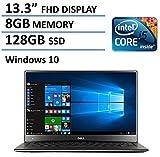 Dell XPS 13 13.3-Inch Laptop(Intel Core i5-6200U Processor, 8GB RAM, 128GB SSD, Backlit Keyboard, Windows 10)