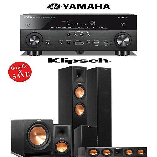 Klipsch reference premiere 7 2 klipsch rp 260f 5 1 for Yamaha 7 2 home theatre system