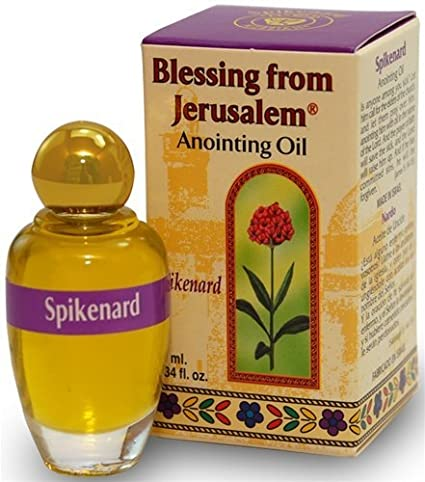 Frankincense - Blessing from Jerusalem Anointing oil - 10ml ( .34 fl. oz. ) Holylandmarket