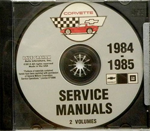 corvette factory service manual - 4