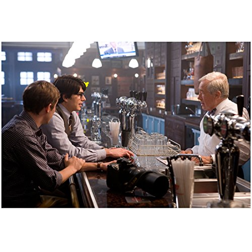 Superman Returns 8x10 Photo Brandon Routh & Sam Huntington Sitting at Bar kn