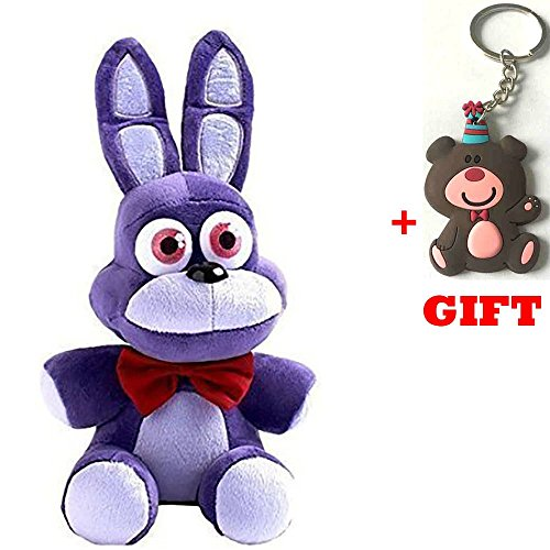 [Amazing Toys store 1pcs New Five Nights At Freddy's 4 FNAF Bonnie Plush Toy Doll 10