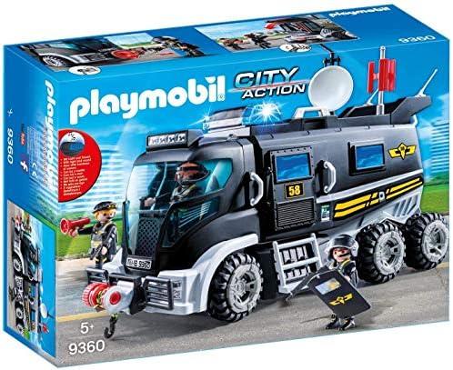 PLAYMOBIL City Action Vehículo con luz LED y Módulo de Sonido, a Partir de 5 Años (9360): Amazon.es: Juguetes y juegos