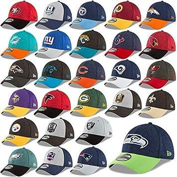 New Era 39thirty Cap Ajustado Elástico NFL Sideline 18/19 Gorra ...