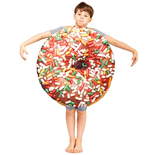PGOND Kids Donut Jumpsuit Cute Costume Unisex (Dark Color)]()