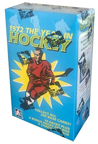 - 2009-10 In The Game 1972 Hockey Sealed Box - 12 Packs Per Box