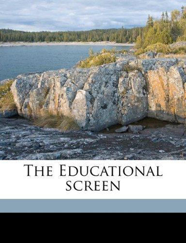 Download The Educational screen Volume 14 ebook