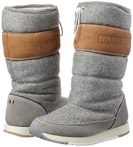 Stivali Napapijri iron N82 Rabina Grigio Donna Neve Grey Da 7qfgvwq5