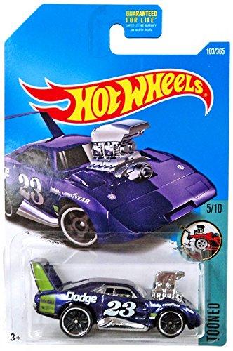Hot Wheels 2017 Tooned Dodge Charger Daytona 103/365, Purple