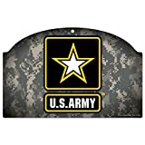United States Military U.S. Army Wood Sign 11'' by 17''U.S. Army Wood Sign, Numerous, One Size