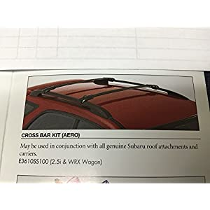 Subaru 2000-2007 Impreza 5 Door Wagon Roof Rack Cross Bar Kit Genuine OEM NEW !!