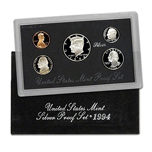 Collection Proof Coin (1994 S U.S. Mint Silver Proof Set - 5 Coins - OGP Superb Gem Uncirculated)