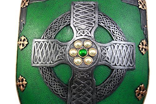 6e3428822a9 Atlantic Collectibles Large Saint Patrick Celtic Warrior Faith Cross ...
