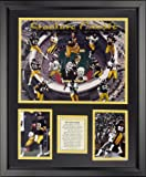 "Legends Never Die Pittsburgh Steelers - Steeler Greats Framed Photo Collage, 16"" x 20"""