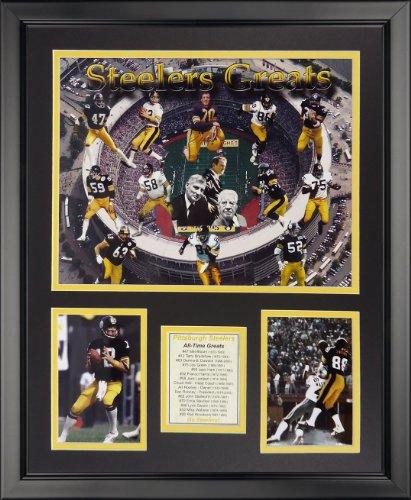 Steelers Pittsburgh Framed Photo (Legends Never Die NFL Pittsburgh Steelers Greats Framed Photo Collage, 18