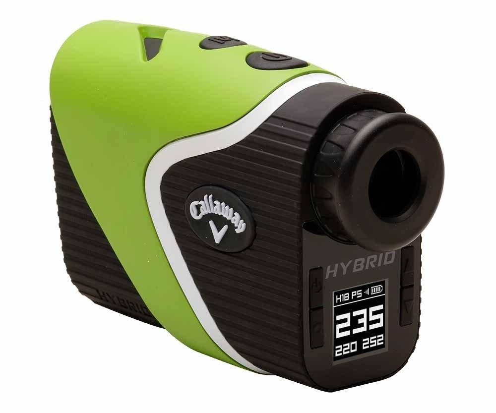 NEW Callaway Hybrid Laser GPS Rangefinder Power Pack w/ Chrome Soft Balls Green