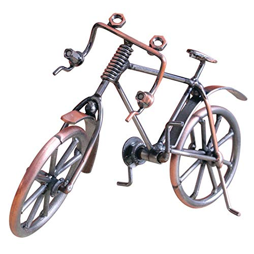 [해외]Banghotfire Bike Model Metal Craft Home Desktop Decoration Bicycle Children Toy Gifts Copper Color / Banghotfire Bike Model Metal Craft Home Desktop Decoration Bicycle Children Toy Gifts Copper Color