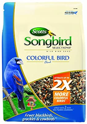 Songbird Selections Colorful Bird Seed Blend