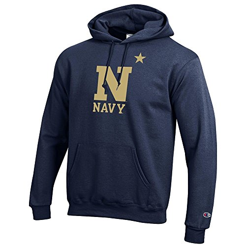 - Elite Fan Shop NCAA Navy Men's Team Color Hoodie Sweatshirt, XX-Large, Blue