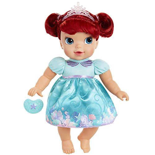 xe Baby Ariel Doll with Pacifier Toy (Little Mermaid Deluxe Ariel Tiara)