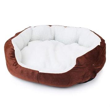 ZHONGGUOHAOGOU para Perros de Navidad Colchonetas de Cama Sofás Perreras Perrito Casa cálida Gato de Invierno