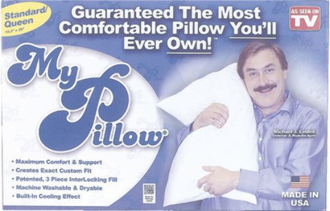 My Pillow Standard Pillow with Built-In Cooling Effect